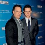 Colin Hanks, njegov sin iz prvega zakona s Samantho Lewes, ki je leta 2002 umrla za kostnim rakom, je prav tako igralec.  (foto: Profimedia)