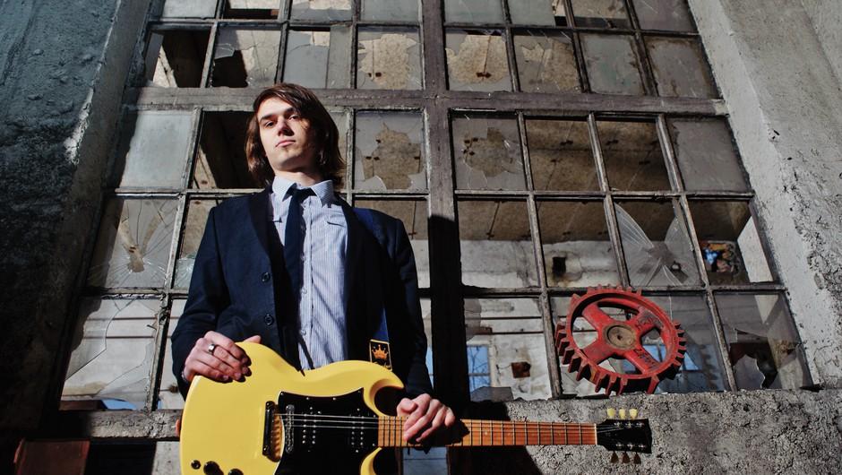 Luka je kitarist, ki nam ima še veliko pokazati.  Foto: Tomaž Zajelšnik (foto: Tomaž Zajelšnik)