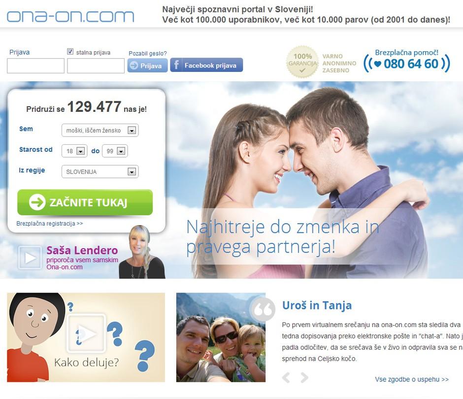 Ona-On.com: številne novosti & Največji Zmenek na Slepo 5 (foto: promocijsko)