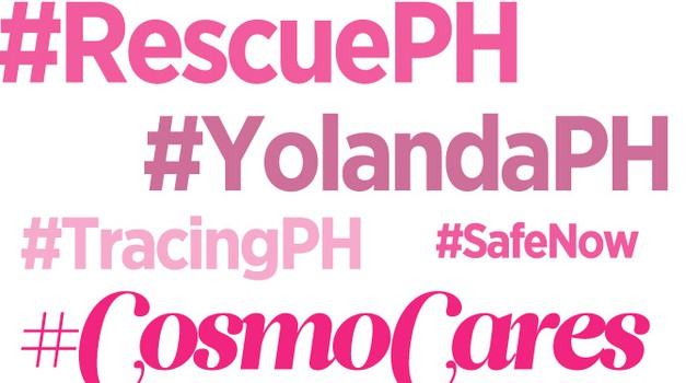 Pomagaj žrtvam tajfuna Yolanda (foto: Cosmopolitan Philippines)