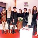 Maja Kovač, Katja Klavora, Tjaša Kokalj, Andreja Fras Martini, Viktorija Lešnik,  Eva Ana Kazič, Tesa Jurjaševič, Jana Koteska in Manja Plešnar (od leve proti desni)