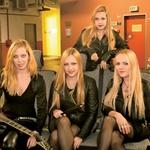 Hellcats so kot skupina začele igrati leta 2006 na odprtju studia Codelli v Ljubljani. (foto: Goran Antley)