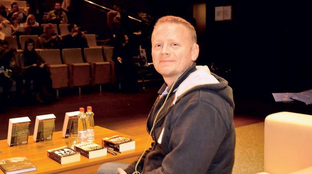 Patrick Ness (foto: Sašo Radej)