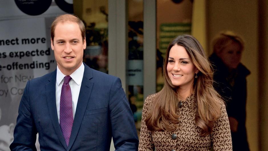 Kate in William sta prepričana, da bodo družina in ožji prijatelji najboljše varuške. (foto: Profimedia)
