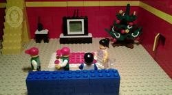 LEGO kocke v oglasu opozorijo na tatove v času praznikov