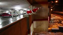 Parkour Božiček te bo popolnoma navdušil