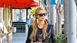 Paris Hilton v pisanih vzorčkih