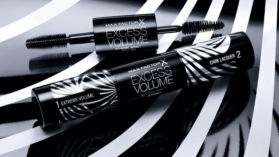 Preizkušale smo: Max Factor Excess Volume Extreme Impact maskaro. (foto: X factor)