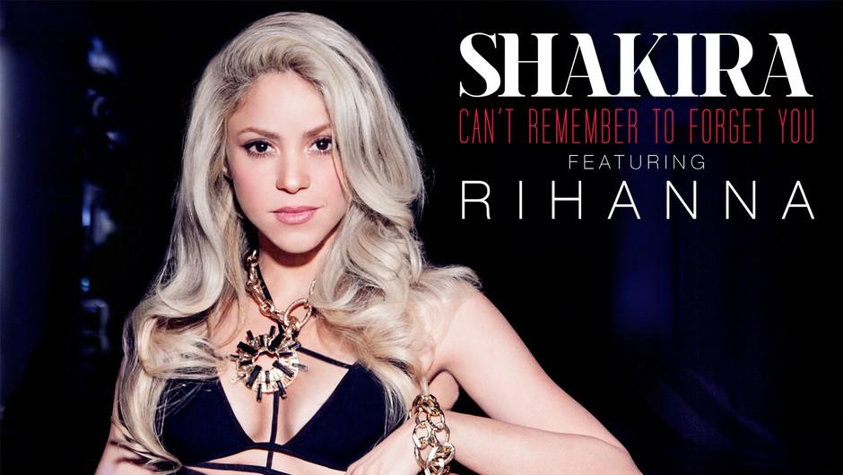 Shakira in Rihanna skupaj tudi v videu! (foto: promocija, Menart Records d.o.o.)