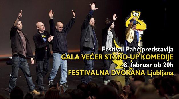 Festival Panč predstavlja Gala večer stand-up komedije (foto: Gregor Zalokar promocija)