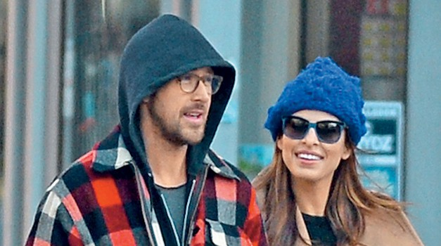 Ryan Gosling si želi otroke, Evo Mendes bolj zanima kariera. (foto: Profimedia)