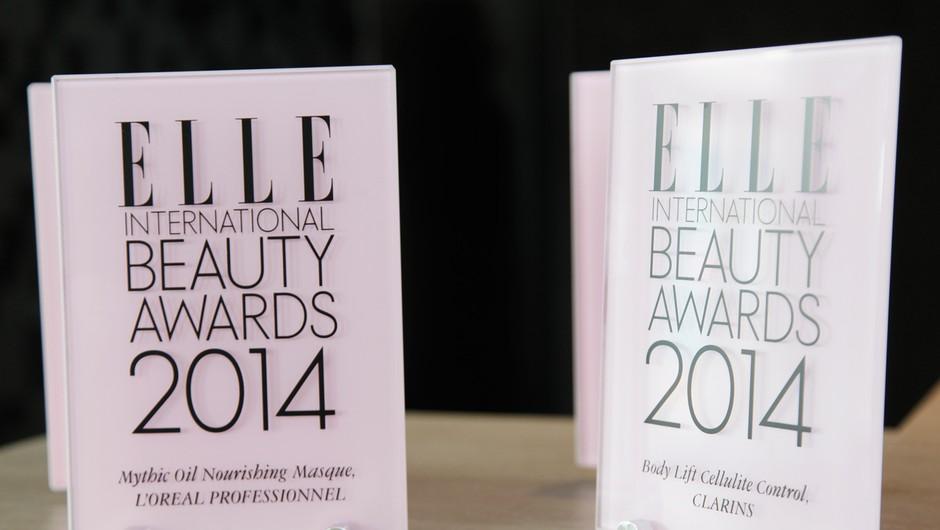 Zmagovalci lepotne elite Elle International Beauty Awards 2014 (foto: Elle)