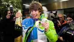 Iz Sočija se je vrnil tudi drugi del olimpijcev