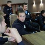Na Brdu v družbi s fanti iz nogometne reprezentance (foto: Goran Antley)