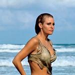 Ko je Raquel Welch leta  1966 v filmu Pred milijon leti  iz morja prišla v zapeljivem  bikiniju, so jo takoj razglasili za  najbolj seksi žensko na svetu.  (foto: Profimedia)