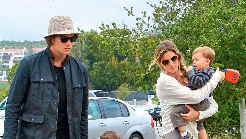 Gisele Bündchen in Tom Brady (foto: Profimedia)
