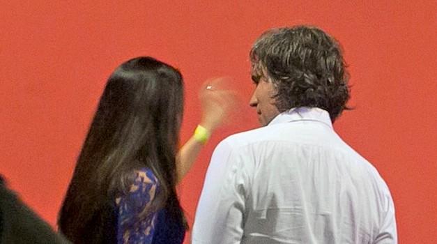 Govorica telesa Jana Plestenjaka in Tine Gaber veliko razkriva! (foto: Lea)