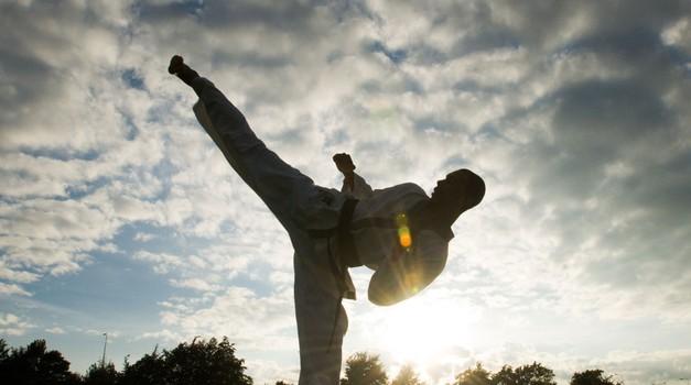 Državni prvak v kickboxu: Uroš Žugelj, 22, Grosuplje (foto: profimedia)