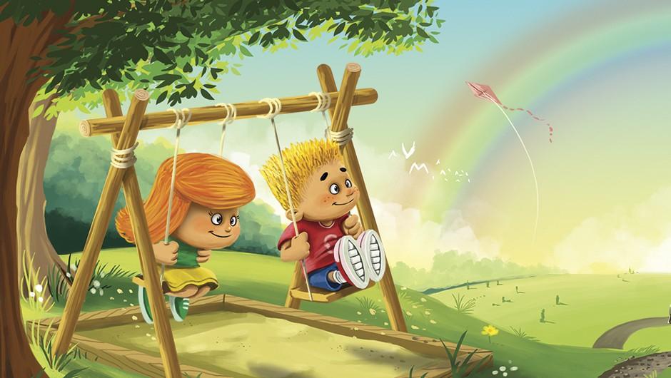Prva otroška knjiga z dvema personaliziranima junakoma! (foto: promo)