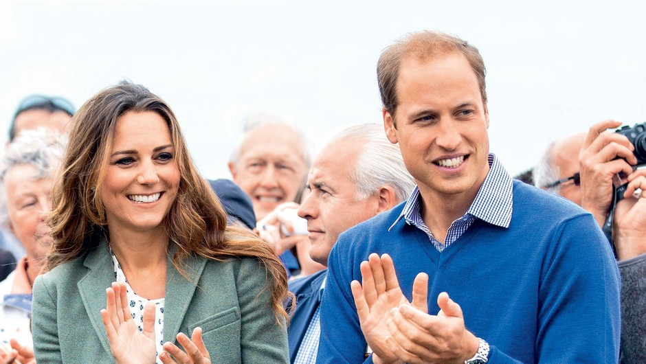 Princ William in vojvodinja Kate (foto: Profimedia)