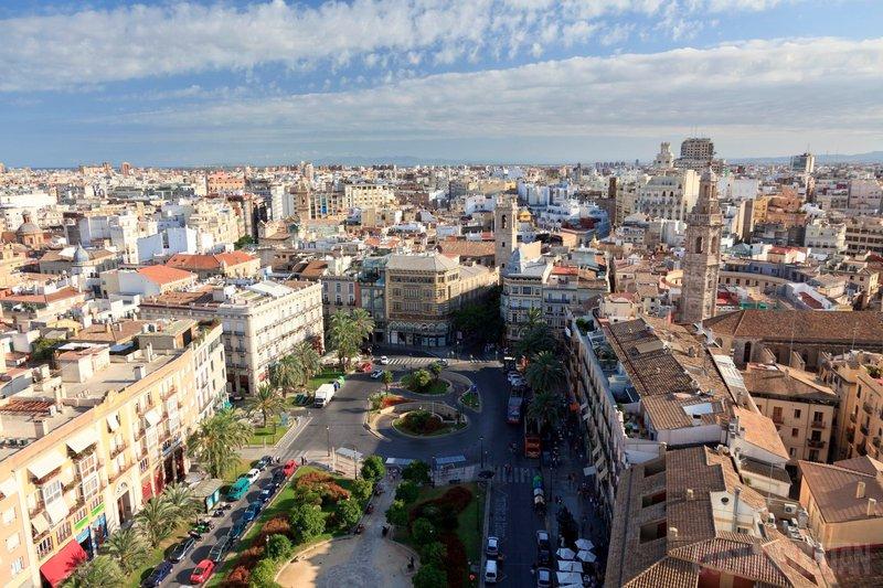 Pogled na Valencijo