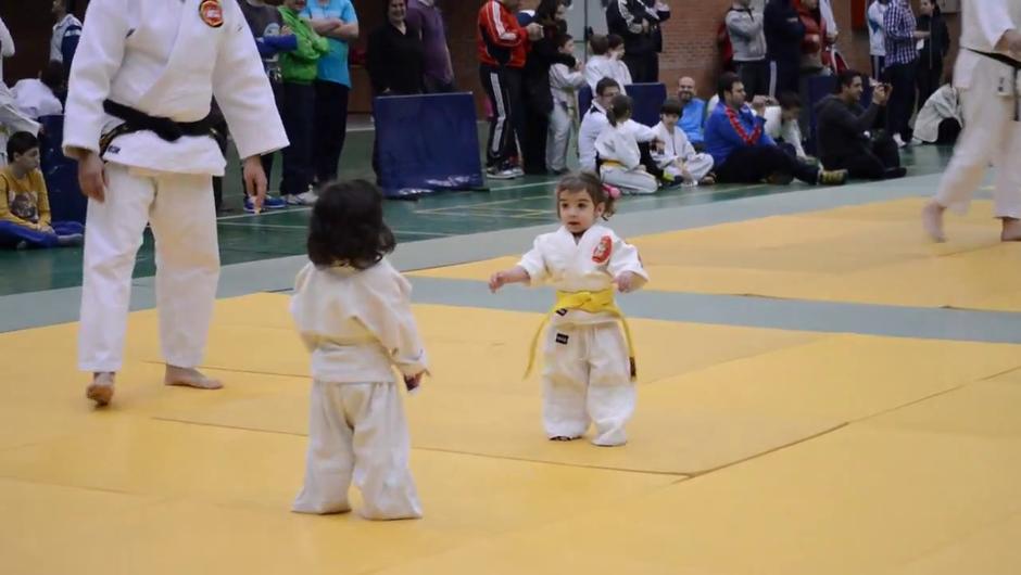 Mini judo! (foto: YouTube)