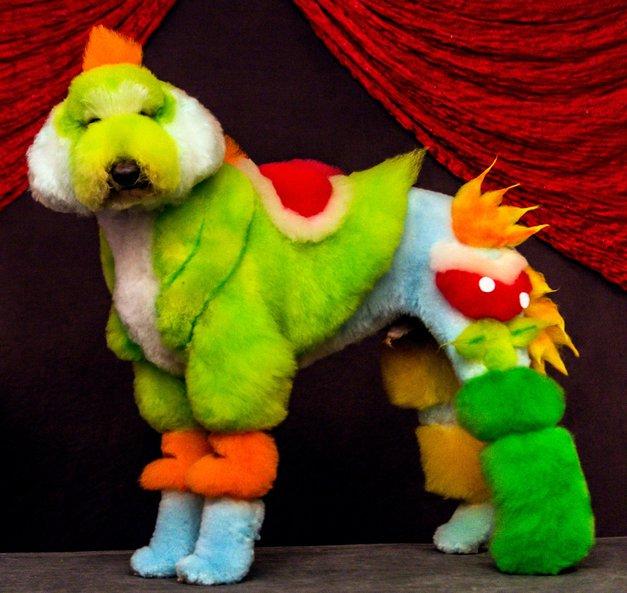 Fotogalerija s tekmovanja v 'body paintingu' za kužke! (foto: profimedia)