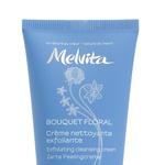 Piling za obraz, Melvita Bouqet Floral Exfoliating cleansing cream (18,30 €) (foto: Perry Hagopian, promocijsko gradivo)