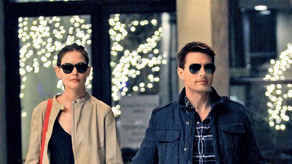 Tom Cruise in Katie Holmes (foto: profimedia)