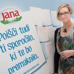 Projekt je podprla tudi Anja Križnik Tomažin (foto: promocija)