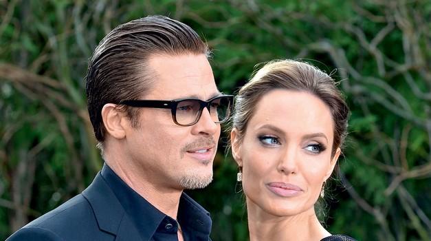Angelina je dejala, da je ljubezen med njo in Bradom vsak dan močnejša.  (foto: Profimedia)