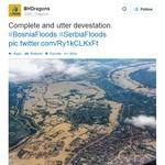 #poplave #SerbiaFloods - voda, plazovi, kače, mine in nevarnost epidemij! (foto: tviter)