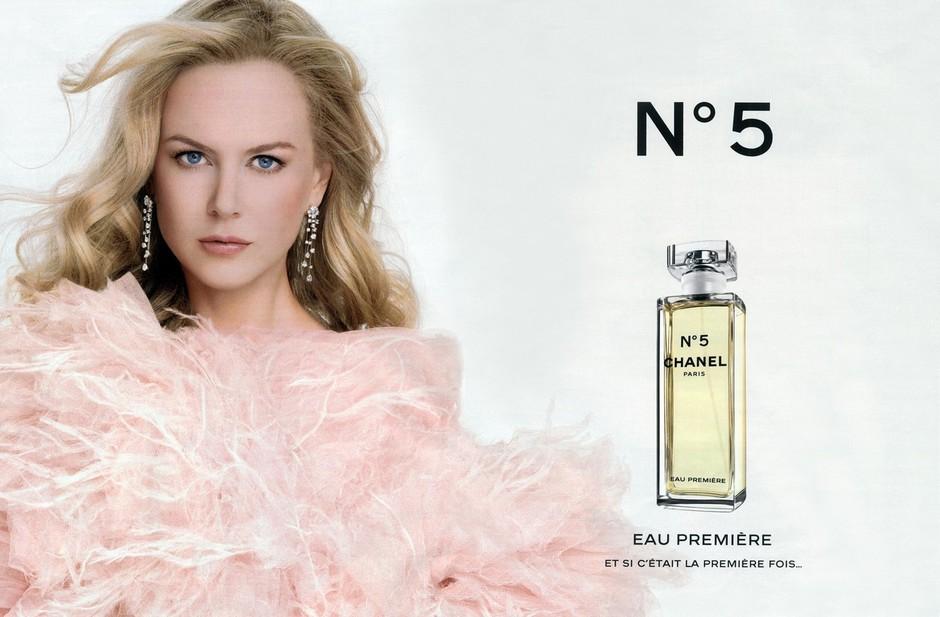 Najdražja reklama za Chanel N°5 je stala 2 milijona dolarjev (foto: Chanel 5 Nicole Kidman)
