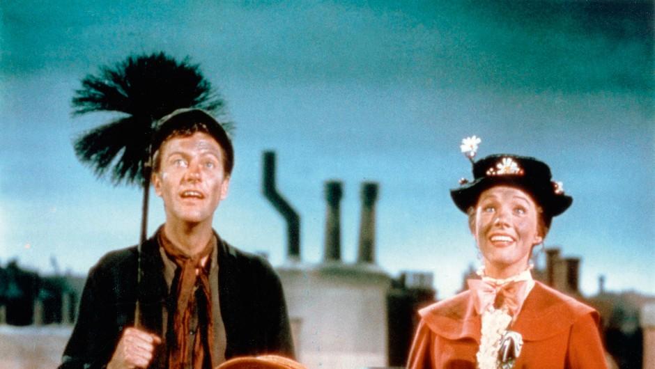 Filmska različica osmih otroških knjig o Mary Poppins si je prislužila pet oskarjev. (foto: Profimedia)