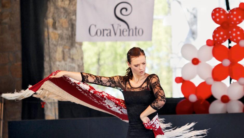 CoraViento - vroč odmerek flamenka  (foto: Miha Mally)
