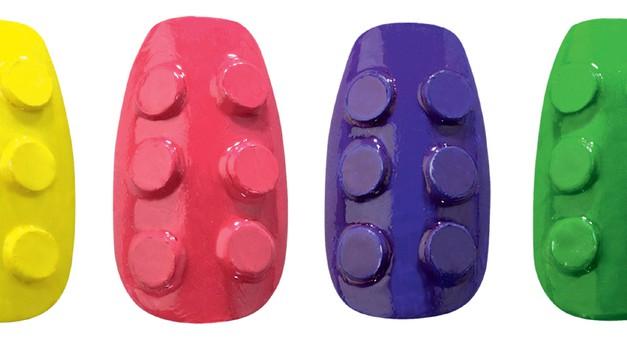 3D-sestavljanka na tvojih nohtih (foto: promocijsko gradivo)