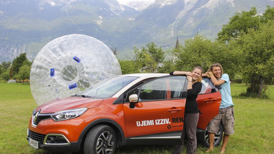 Adrenalinski izziv z Renault Capturjem (foto: Helena Milost)