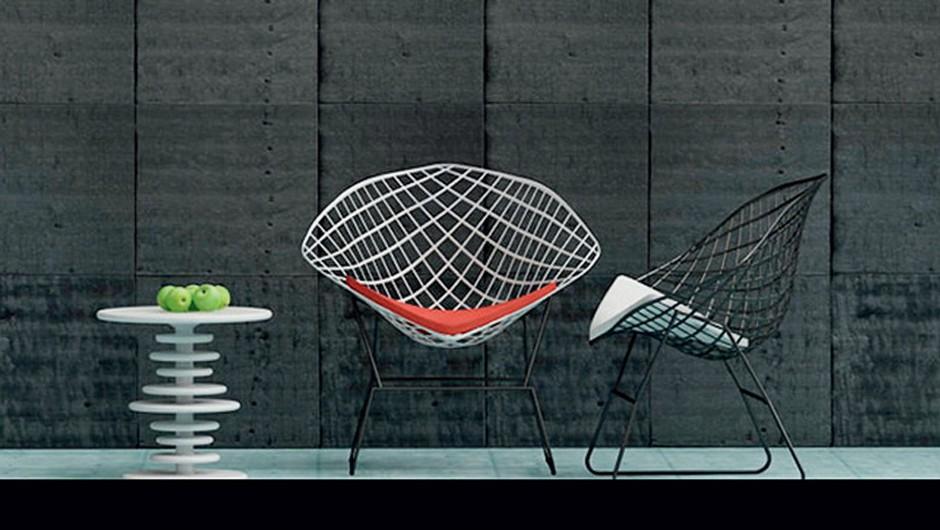 Nenavadni stoli - od legend do oblikovalskih presežkov (foto: Lisa foto)
