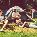 Obiskovalci so postavili okoli 2.000 šotorov (foto: Švic festival)