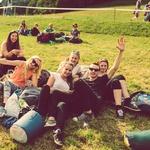 Spalne vreče in šotori so skorajda obvezna oprema saj večina obiskovalcev na festivalu preživi cel vikend (foto: Švic festival)