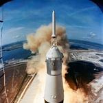 16. julija 1969 je iz Kennedy-jevega vesoljskega centra vzletel Apollo 11. (foto: profimedia)