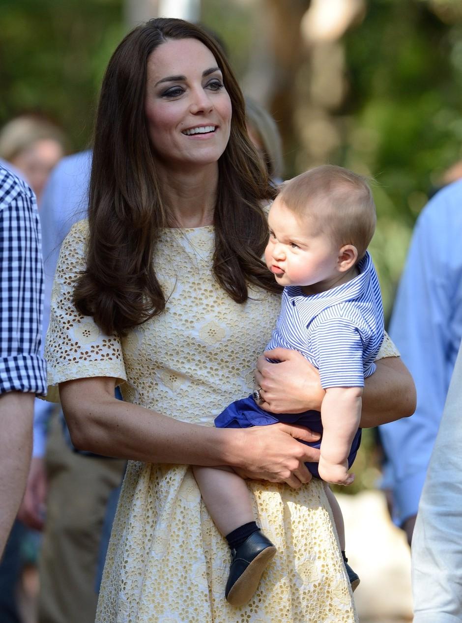 Ljubki čustveni izrazi na obrazu malega princa (foto: profimedia)