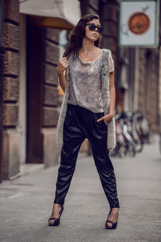 Septembrski modni utrip na mestnih ulicah (foto: Robert Ribič)