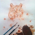 Umetnik, ki svoje akvarele slika s sladoledom! (foto: profimedia)