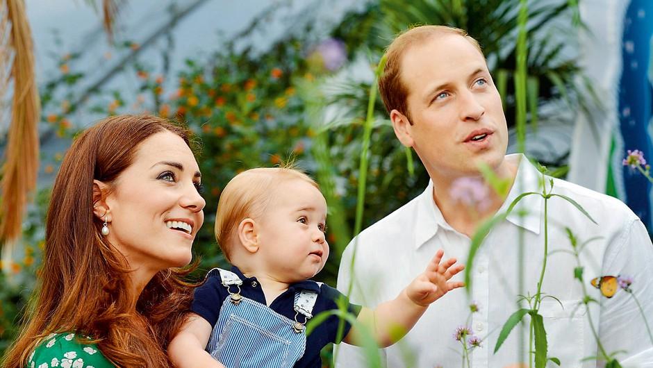 Vojvodinja Kate in princ William (foto: Profimedia)