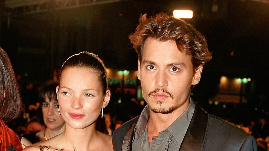 Johnny Depp in Kate Moss (foto: Profimedia)