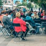 Tretji ulični pogovor:gostja Vesna Leskošek (foto: Matej Perko)