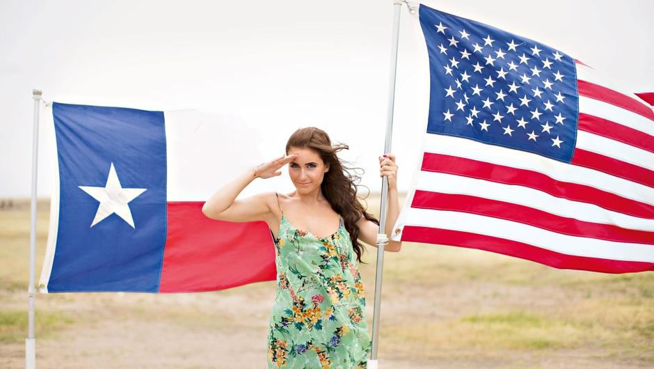 Na žgočem ameriškemsoncu (foto: Andraž Blaznik)