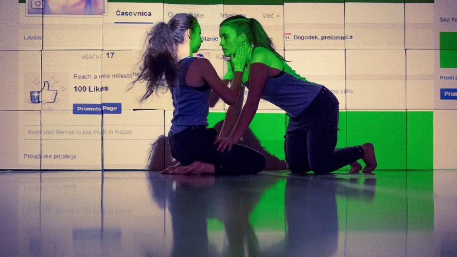 Plesna predstava 'Profil in kazen' v Cankarjevem domu (foto: Jani Pernelj)