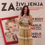 Novinarsko konferenco je povezovala Blažka Müller Pograjc.  (foto: Zavod Emma)